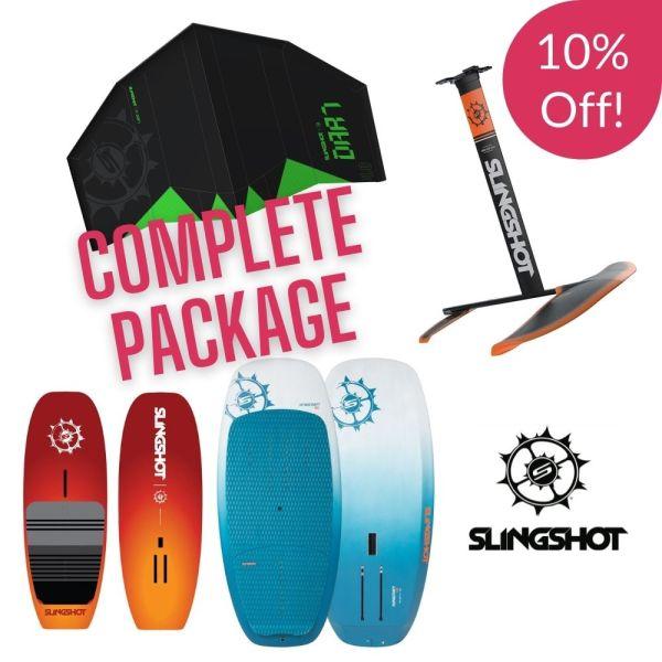 Slingshot Dart wing foil package