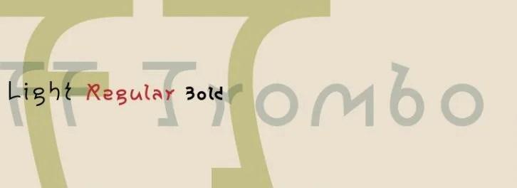 Ff Trombo [3 Fonts] | The Fonts Master