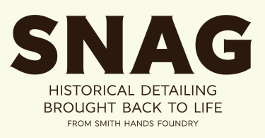 Snag [3 Fonts] | The Fonts Master