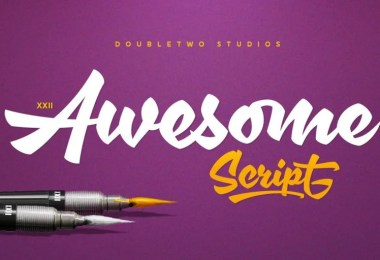 Xxii Awesomescript [1 Font] | The Fonts Master