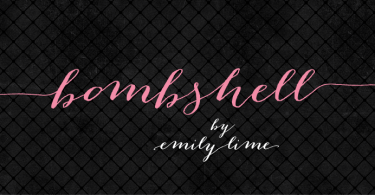 Bombshell Pro [1 Font] | The Fonts Master