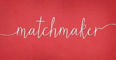Matchmaker [1 Font] | The Fonts Master
