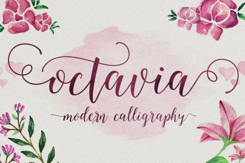 Octavia Script [1 Font]   The Fonts Master