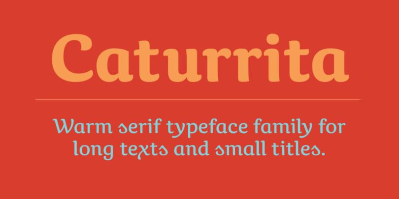 Caturrita [5 Fonts]   The Fonts Master