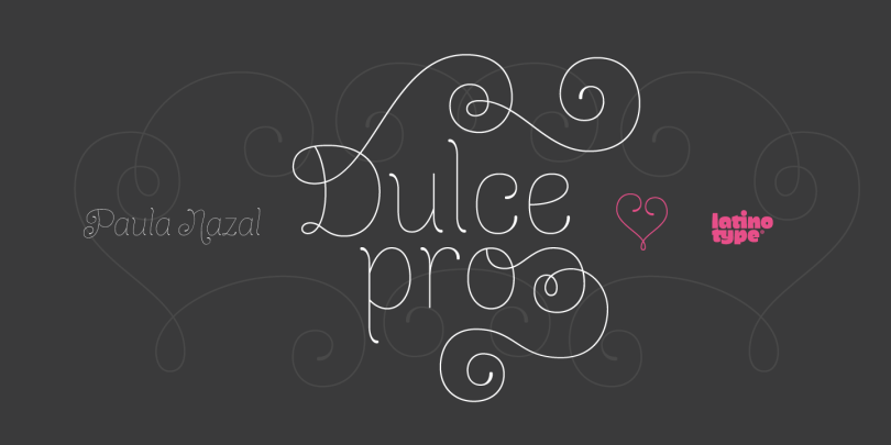 Dulce Pro [5 Fonts] | The Fonts Master