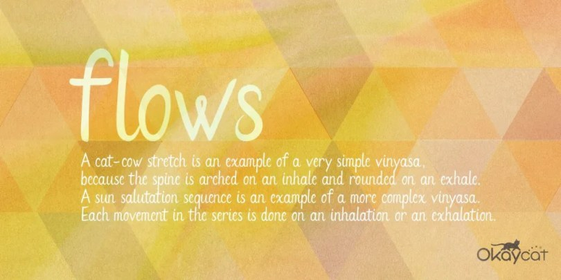 Flows [1 Font] | The Fonts Master