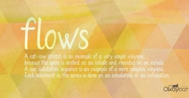 Flows [1 Font]
