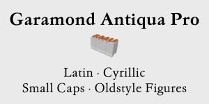 Garamond Antiqua