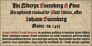 Gutenberg B