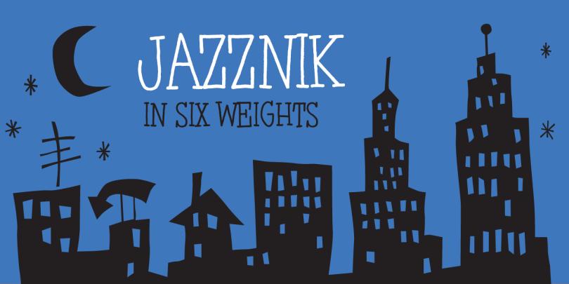 Jazznik [8 Fonts] | The Fonts Master