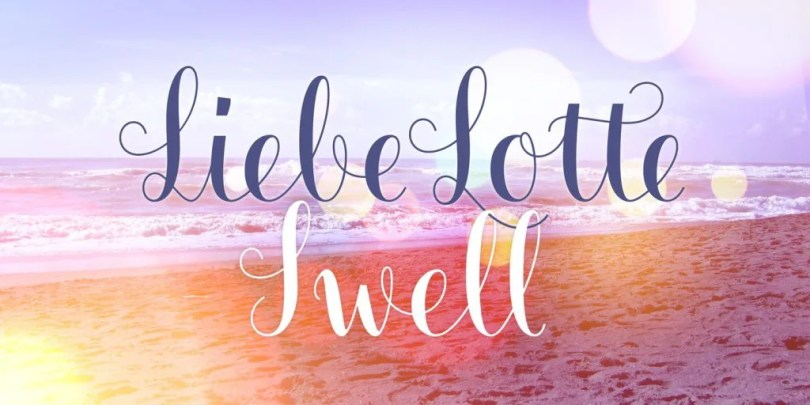 Liebe Lotte Swell [1 Font] | The Fonts Master