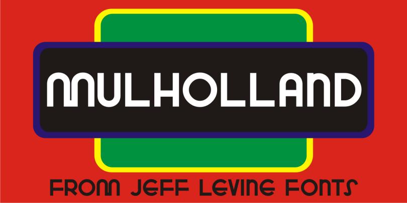 Mulholland Jnl [1 Font] | The Fonts Master