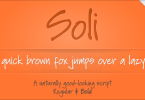 Soli Px [2 Fonts] | The Fonts Master
