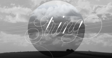 String [2 Fonts] | The Fonts Master
