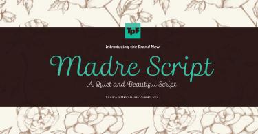 Madre Script [1 Font] | The Fonts Master