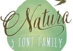 Natura [5 Fonts] | The Fonts Master