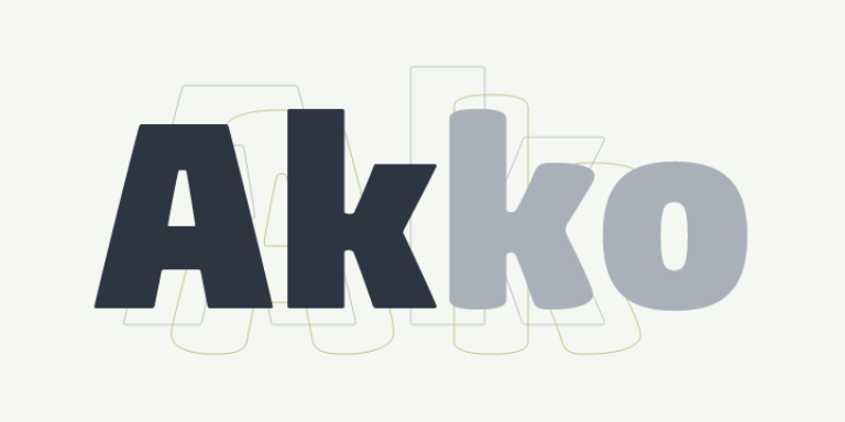 Akko Pro Super Family [12 Fonts] | The Fonts Master