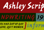 Ashley Script [1 Font] | The Fonts Master