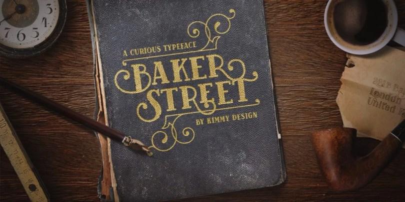 Baker Street [6 Fonts] | The Fonts Master