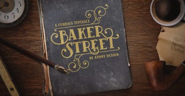 Baker Street [6 Fonts] | The Fonts Master