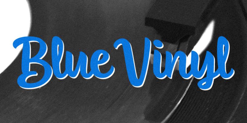 Blue Vinyl [2 Fonts] | The Fonts Master