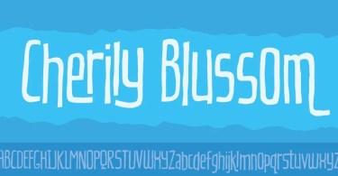 Cherily Blussom [1 Font] | The Fonts Master