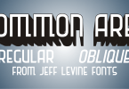 Common Area Jnl [2 Fonts] | The Fonts Master