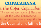 Copacabana [4 Fonts] | The Fonts Master