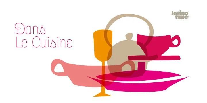 Dans Le Cuisine [1 Font]   The Fonts Master