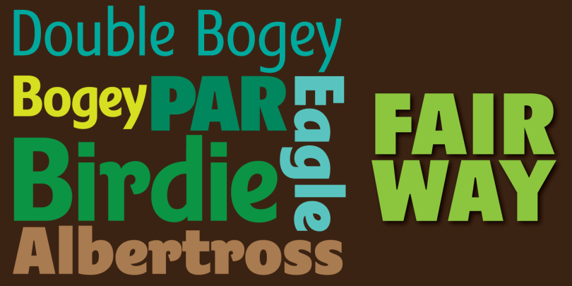 Fairway [7 Fonts] | The Fonts Master