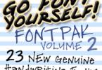 GFY Handwriting Fontpak #2 [23 Fonts]