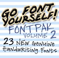 Gfy Handwriting Fontpak #2 [23 Fonts] | The Fonts Master