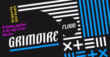 Grimoire [1 Font]   The Fonts Master