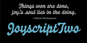 Joyscript Two