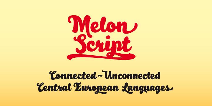Melon Script [4 Fonts] | The Fonts Master