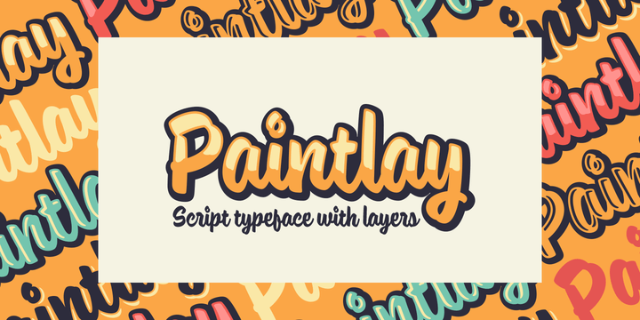 Paintlay [5 Fonts] | The Fonts Master