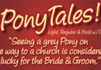 Pony Tale Pro [6 Fonts] | The Fonts Master