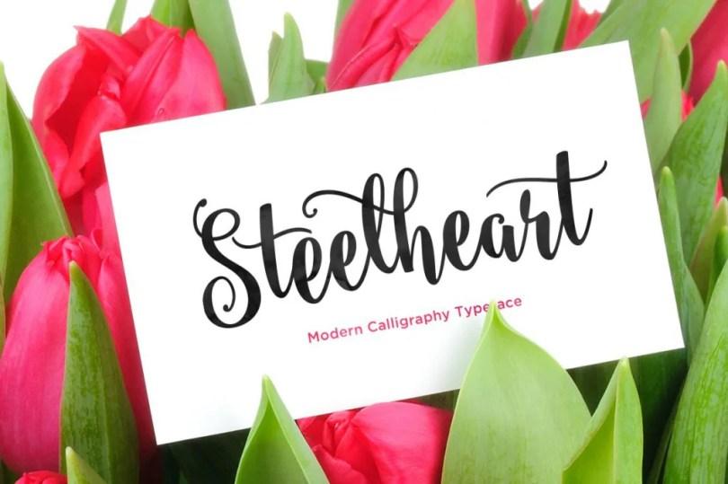 Steelheart [1 Font]   The Fonts Master