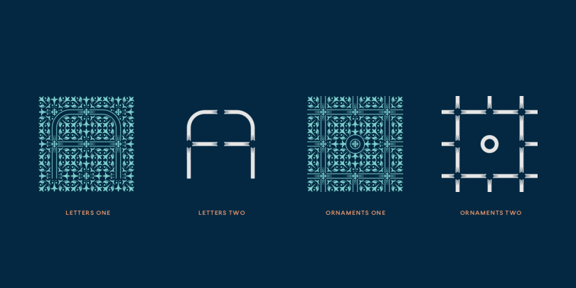 Tcf Zellige [4 Fonts] | The Fonts Master