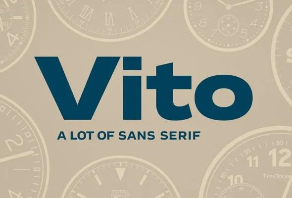 Vito Super Family [60 Fonts] | The Fonts Master