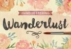 Wanderlust Letters [2 Fonts] | The Fonts Master