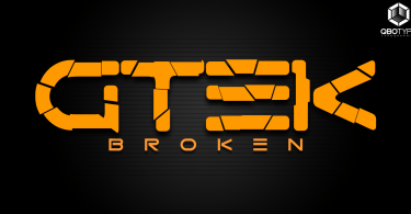 Gtek Broken [1 Font] | The Fonts Master
