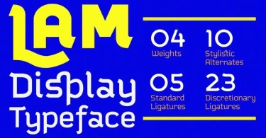 Lam [4 Fonts] | The Fonts Master