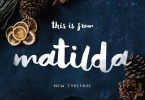 Matilda [1 Font] | The Fonts Master