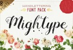 Mightype [8 Fonts] | The Fonts Master