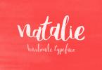 Natalie [1 Font] | The Fonts Master