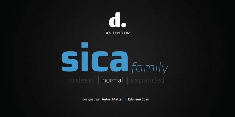 Sica Super Family [36 Fonts] | The Fonts Master