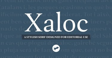 Xaloc [24 Fonts] | The Fonts Master