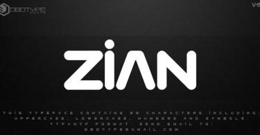 Zian V15 [1 Font] | The Fonts Master