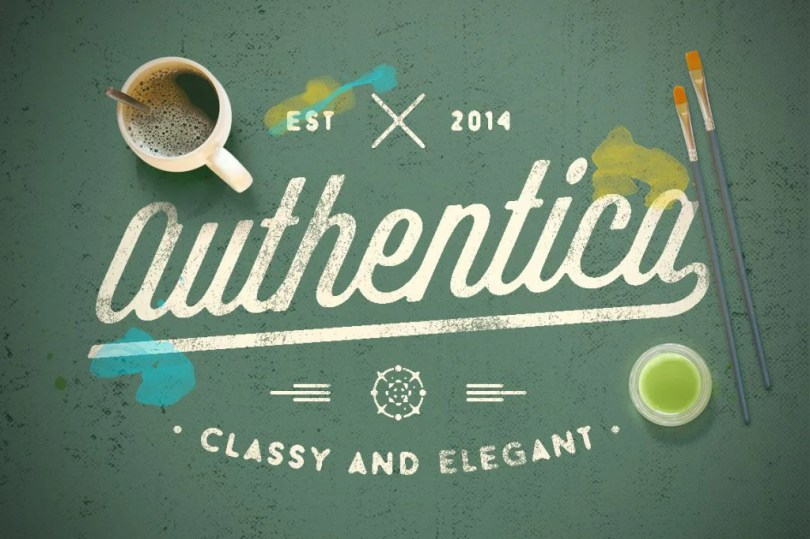 Authentica [4 Fonts] | The Fonts Master